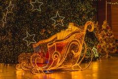 Julbakgrund/bakgrund för glad jul Arkivbild