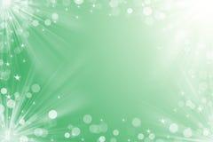 Julbakgrund för din gröna färg för design Arkivbild
