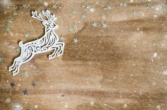 Julbakgrund för feriekort Royaltyfri Foto