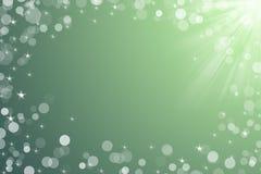 Julbakgrund för grön färg för kortgrå färger Arkivbild