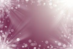 Julbakgrund för kortet för dina designlilor färgar Royaltyfri Bild