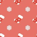 Julbakgrund i plan stil Arkivfoton