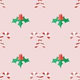 Julbakgrund i plan stil Royaltyfri Fotografi