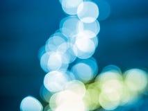 Julbakgrund med Bokeh effekt Royaltyfria Bilder