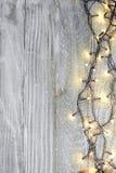 Julbakgrund med härlig garnering Royaltyfria Bilder