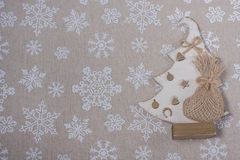 Julbakgrund med julsymboler Jul Decoratio Royaltyfri Bild