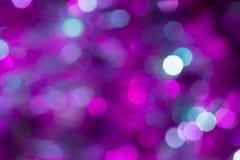 Julbakgrund med ljus för nytt år royaltyfria bilder
