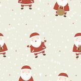 Julbakgrund med Santa Claus. Arkivfoto