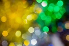 Julbakgrund med suddighetsljus Royaltyfria Bilder