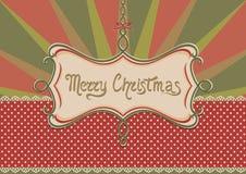Julbakgrund och ram Arkivfoton