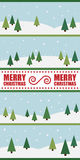 Julbakgrundsdesign Arkivbilder
