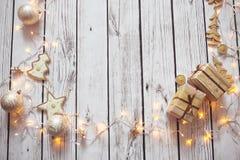Julbakgrundsram fotografering för bildbyråer