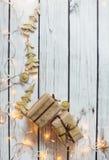 Julbakgrundsram arkivbild