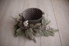 Julbakgrundstextur nytt år textur arkivfoton