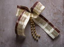 Julband på en servett Royaltyfria Foton