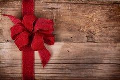 Julband på träbakgrund Royaltyfri Bild