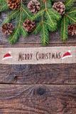 Julband på träbakgrund Royaltyfria Foton