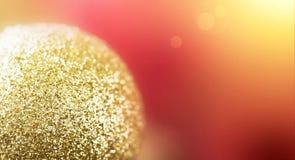 Julbaner med kopieringsutrymme Royaltyfri Fotografi
