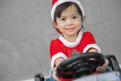 Julbarn, glad jul och lyckliga ferier! Royaltyfri Bild