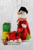 Julbegrepp för juldag Arkivfoton