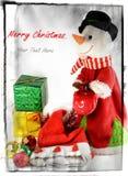 Julbegrepp för juldag Royaltyfri Bild