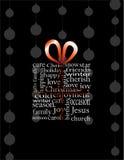 Julbegrepp i gåvaask Royaltyfri Fotografi
