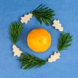 Julbegreppsbakgrund royaltyfria bilder