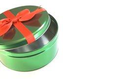 Julbehållare Royaltyfri Fotografi