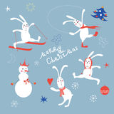 Julbeståndsdelar Arkivfoto