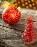 Julboll royaltyfria bilder
