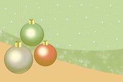 Julbollar Arkivfoton