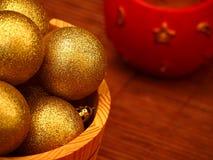 Julbollar Fotografering för Bildbyråer