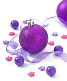 Julbollar Arkivfoto