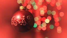 Julbollen roterar