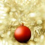 Julbollgarnering Fotografering för Bildbyråer