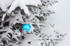 Julbollgarnering - materielfoto Arkivfoto
