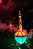 Julbubblaljus Fotografering för Bildbyråer