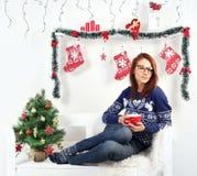 Juldagen Arkivbilder