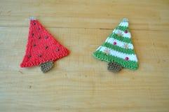 Juldekor med egna händer royaltyfria foton