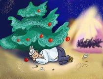 juldeltagare Fotografering för Bildbyråer