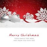 Juldeocoration Fotografering för Bildbyråer