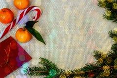 Juldesign - glad jul Juldesign - glade Chr Fotografering för Bildbyråer
