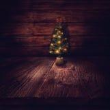Juldesign - julgran Royaltyfri Foto