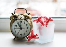 Juldesign på vit bakgrund Royaltyfri Foto