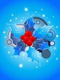 juldesignvektor vektor illustrationer
