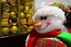 Juldocka för brosur och baner Royaltyfria Bilder