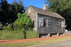 Julee Cottage. Historic cottage in Seville Square, Pensacola, Florida Stock Photo