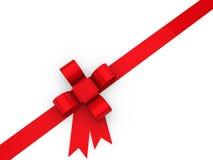 julen 3d kretsar red Royaltyfri Fotografi