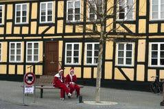 julen avlar att koppla av Royaltyfri Bild