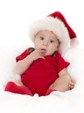 Julen behandla som ett barn Royaltyfria Bilder